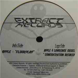 DJ Apple / Lawrence Siegel - Concentration Breaker / Floorplay download
