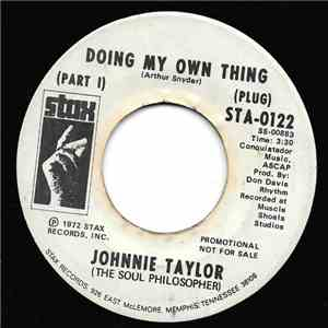 Johnnie Taylor - Doing My Own Thing (Part I) download